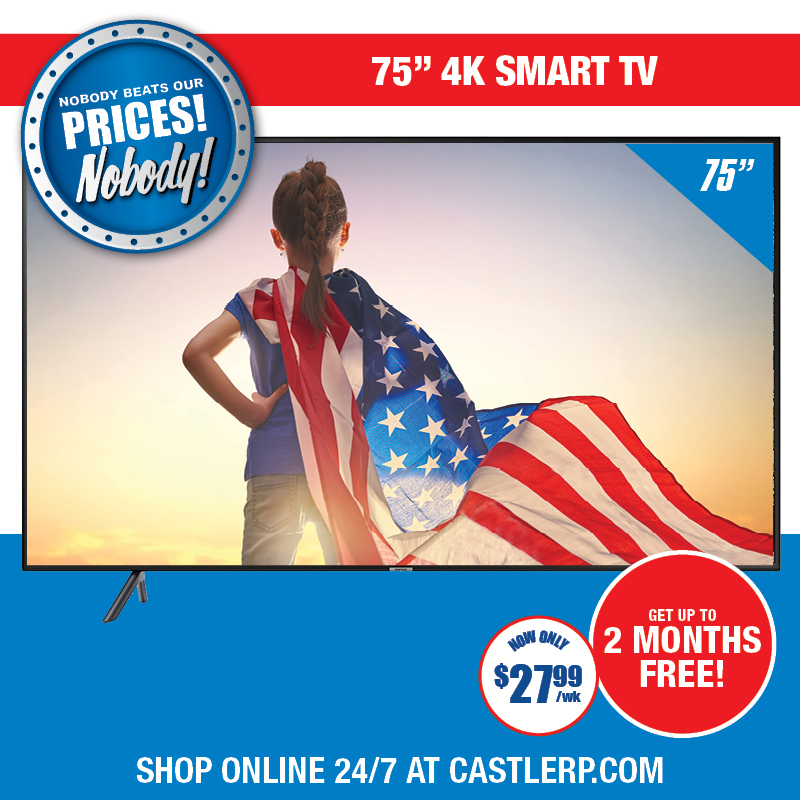 Deal- 65 inch Television and Xbox One or PS 4